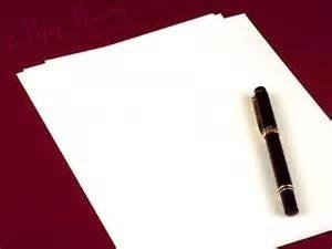 ورقة قلم