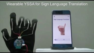 Photo of قفازات ذكية تترجم لغة الإشارة بدقة 99 بالمائة
