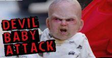 بالفيديو: (الطفل الشيطان) يثير الرعب في شوارع نيويورك