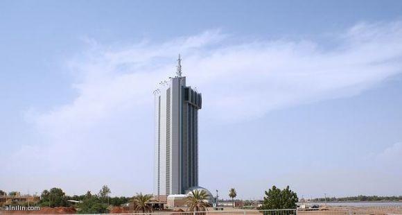 صورة لبرج الاتصالات - بري - الخرطوم  -