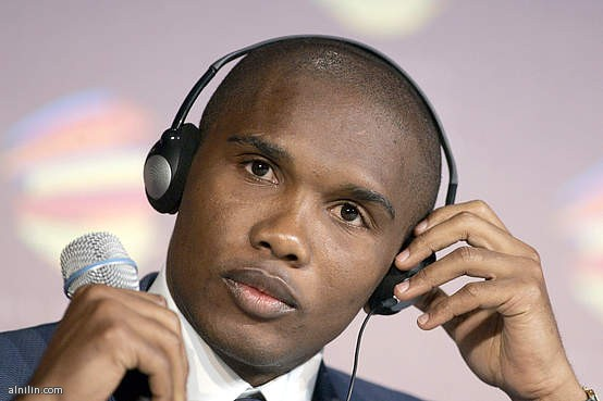 صمويل ايتو نجم المنتخب الكاميروني