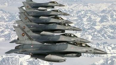 Photo of سرب من طائرات Fokker F-16A Fighting Falcon