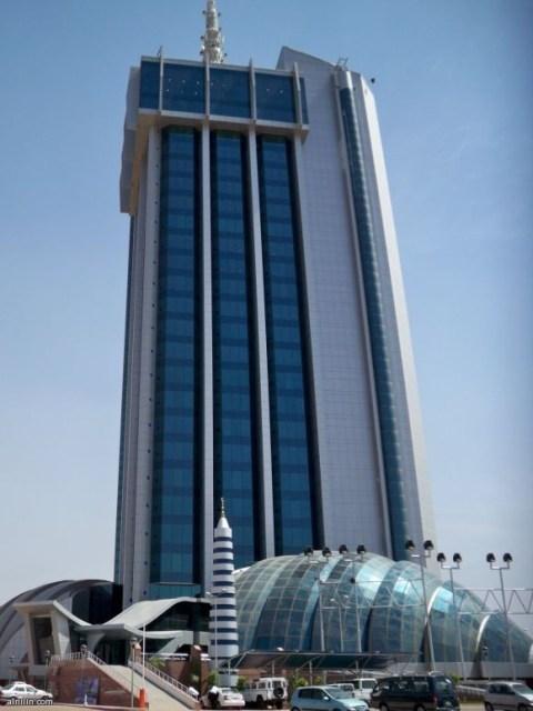 برج الأتصالات السودان الخرطوم (بري) مطل على النيل الأزرق