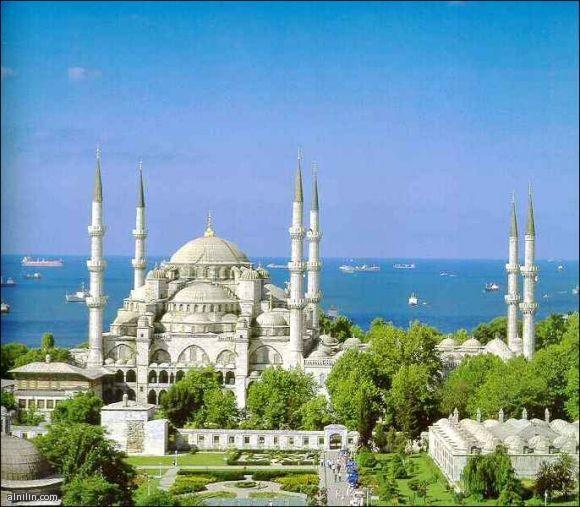 من اجمل المساجد التركية