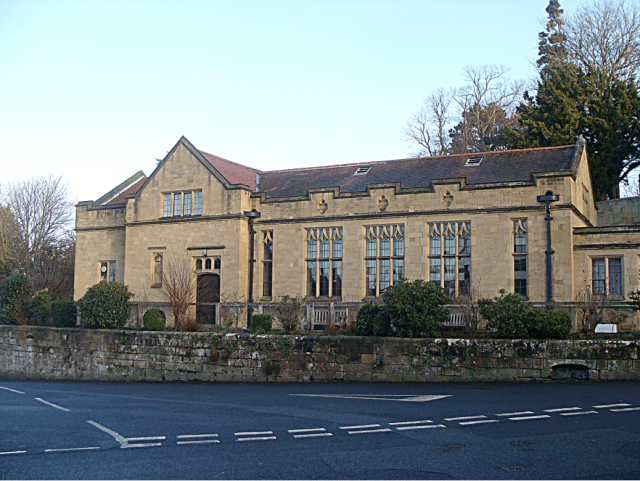 The exterior of St Michael's Parish Hall