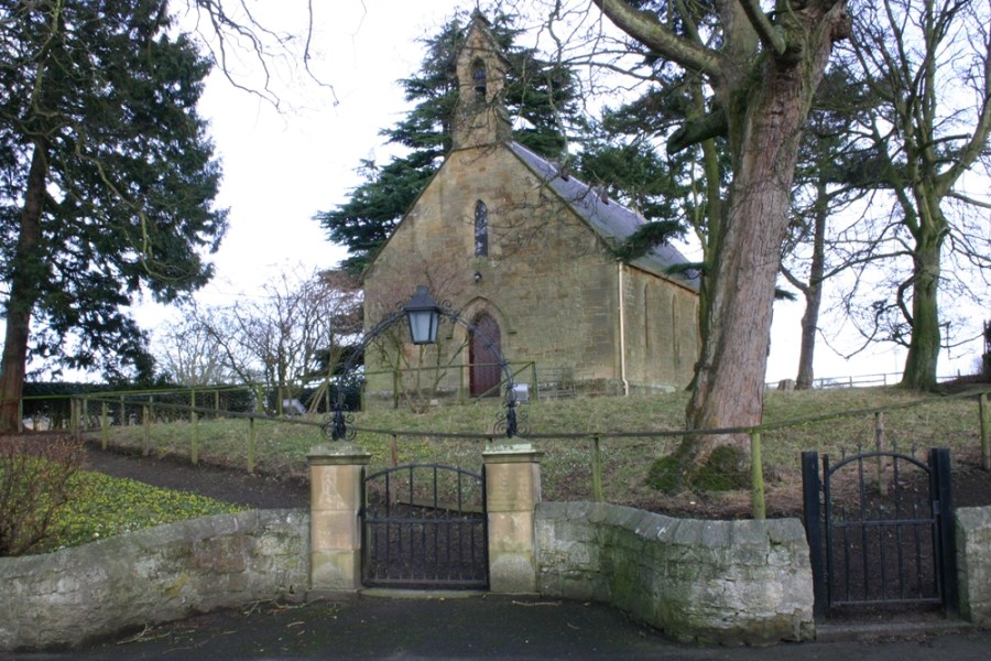 Exterior view of Denwick Chapel