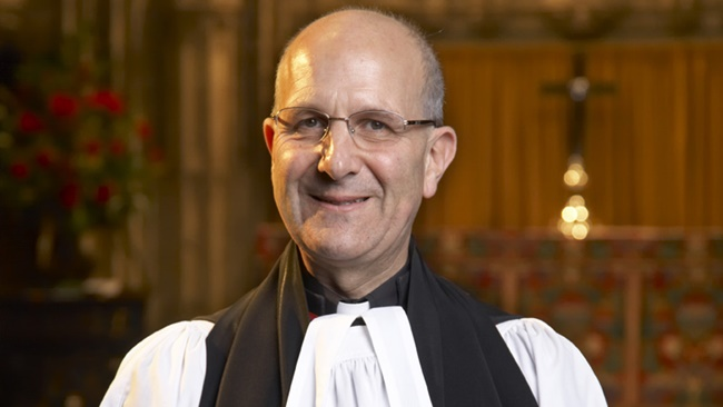 Photograph of the Very Rev'd Michael Sadgrove