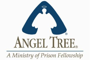 "A stylised angel and tree with the text ""Angel Tree: A ministry of Prison Fellowship"""