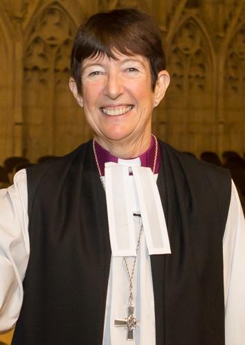 Right Rev'd Christine Hardman, Bishop of Newcastle
