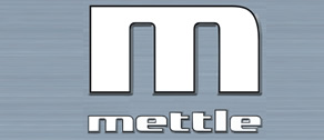 Logo with an M and the word mettle