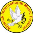 The logo of the Alnwick International Music Festival