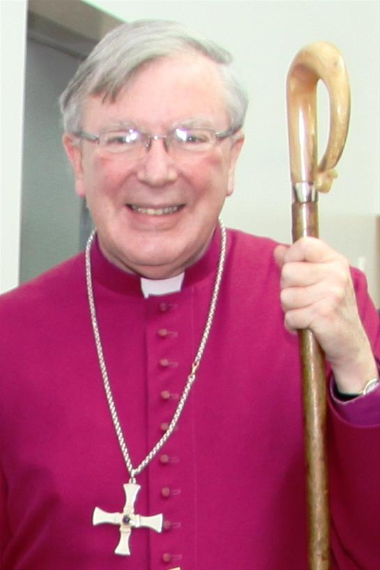 Photograph of Martin Wharton, The Right Reverend the Lord Bishop of Newcastle