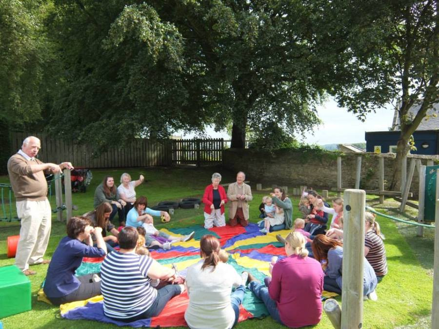 Fun in the sun at St Michael's First School