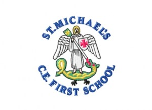 Logo of St Michael's C of E First School