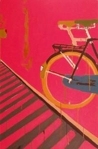 45Raleigh-Bicycle-2Acrylic-on-Canvas-120-x-90-cm-2006