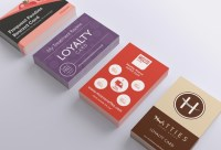 Loyalty Card Printing | Eco-printed on heavy board | A ...