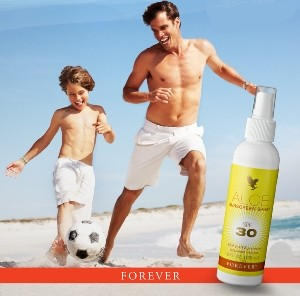 Aloesowy Krem z filtrem UV w sprayu Aloe Sunscreen Spray SPF30