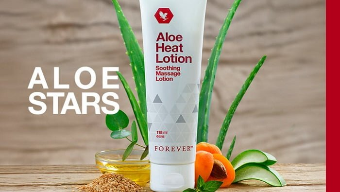 Aloe Heat Lotion – crema scaldante