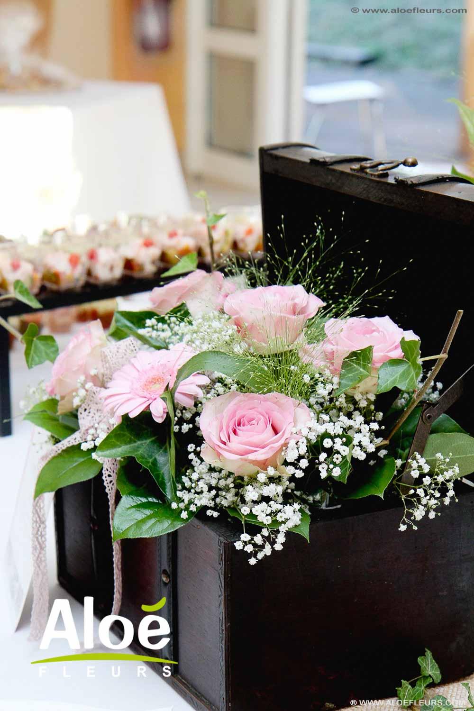 Bouquet de Marie champtre  Un thme de mariage au naturel  ALOE FLEURS