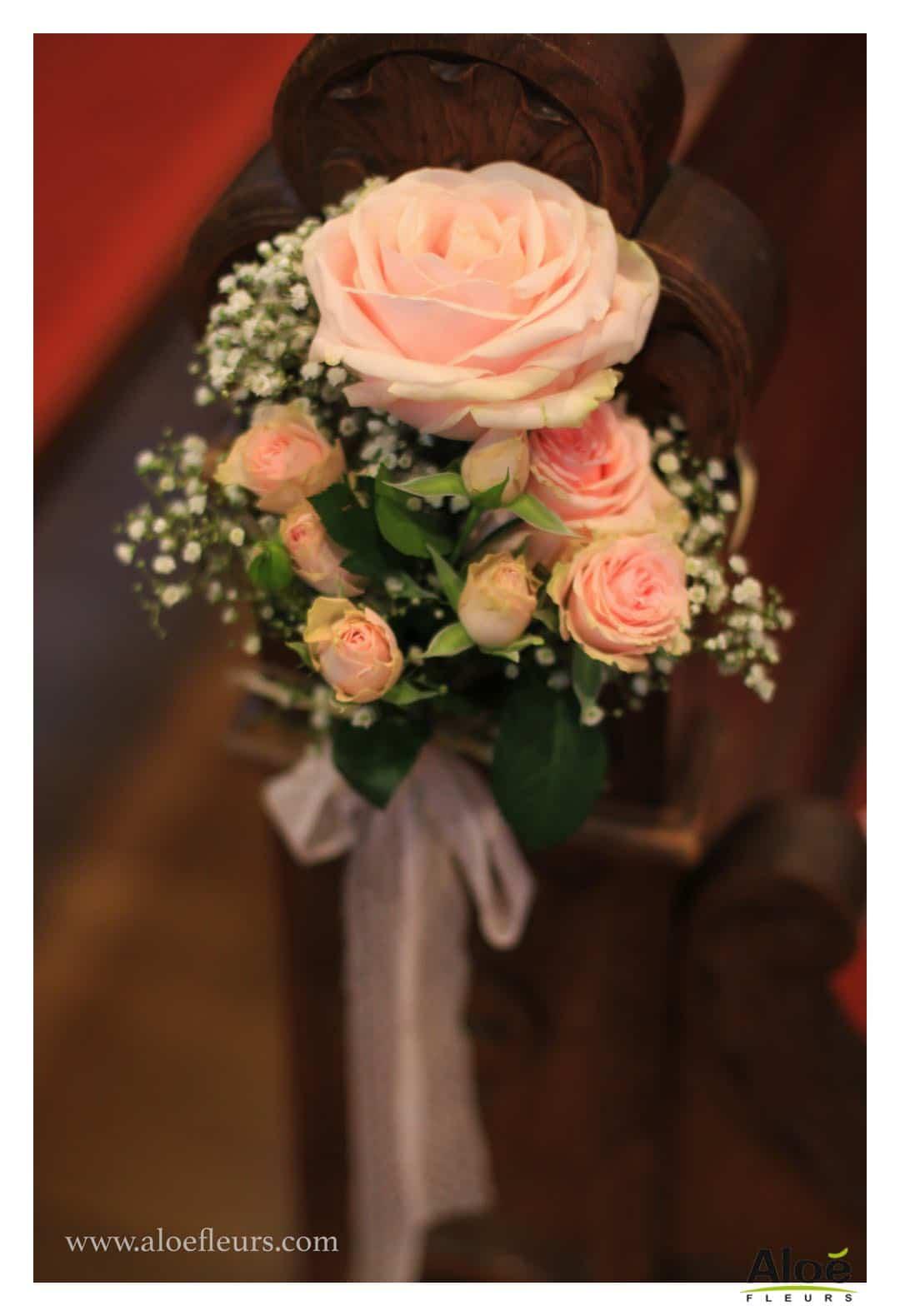 Cadre Bouquet Marie Et Mariage Pivoine Rose Ancienne