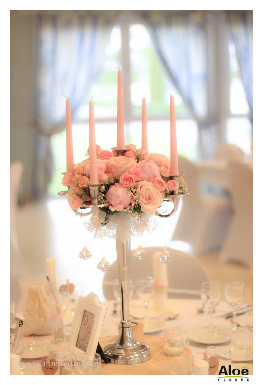 Mariage Romantique  Dcoration en Pivoines et Roses anciennes