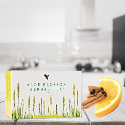 Blossom Herbal Tea Programma Aloe Forever