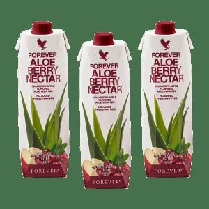 Tripack Aloe Berry Nectar Bevande