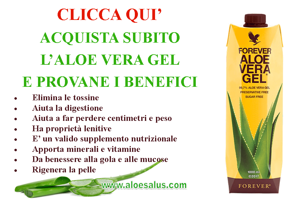 Foto Acquista Aloe Vera Gel Messina