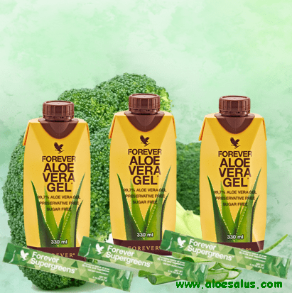 Mini Tripack Forever Supergreens & Aloe Vera Gel