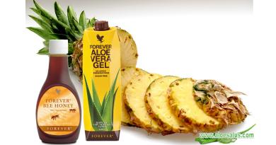 Torta di Ananas e Aloe Vera