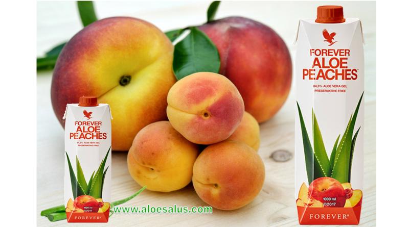 Forever Aloe Peaches Mini