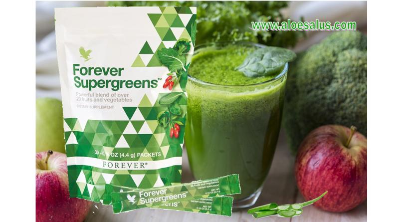 Forever Supergreens Integratore