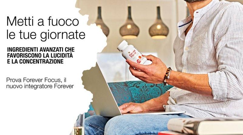 Forever Focus integratore per rimanere concentrato