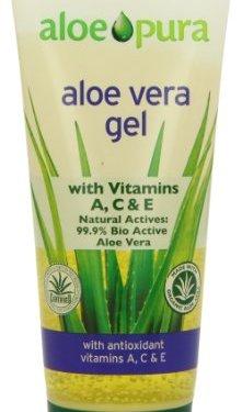 Aloe Vera Gel de Aloe Pura antioxidante vitamina A, C y E 200ml