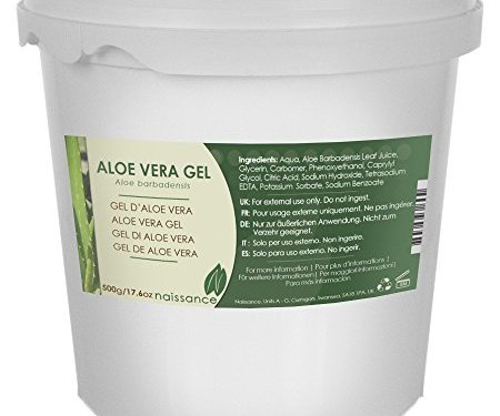 Gel de Aloe Vera – Ingrediente Natural – 500g