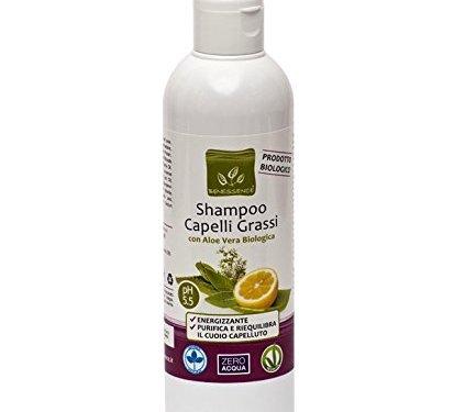 CHAMPÚ PELO GRASO – CON ALOE VERA ORGANICA 250 ml