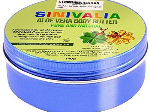 Mantecas Corporals – Crema hidratante con aloe vera para piel seca para cuerpo, cara o pelo dañado | Cuidado de la piel efecto antienvejecimiento para pies o manos | 140 g