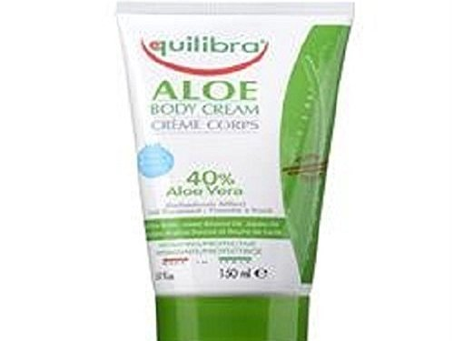 Equilibra Body Cream, Aloe Vera 150 ml – Pack of 2 by Equilibra