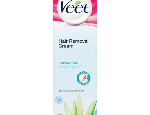 Veet Hair Removal Cream Sensitive Skin with Aloe Vera & Vitamin E (100ml) by Veet
