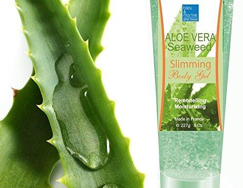 Gel de Aloe Vera y Algas Adelgazante 227g Hidratante Remodelante Perdida de Peso con Algas Marinas Anti Celulitis