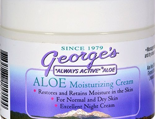 George's Aloe Vera Moisturizing Cream – 2 oz by George's