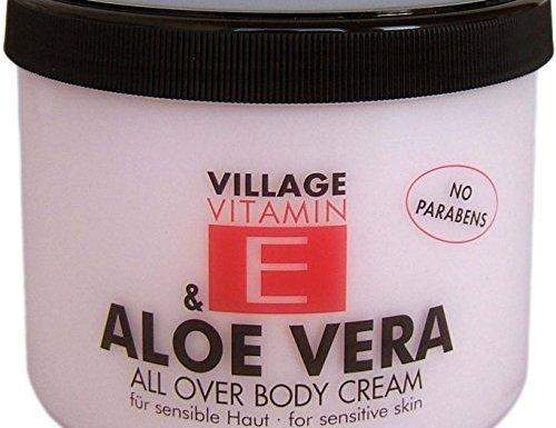 Pueblo – Crema Hidratante corporal con aloe vera y vitamina E – 500ml