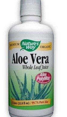 Aloe Vera, Whole Leaf Juice, 33.8 fl oz (1 Litre)