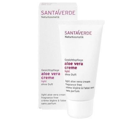 Santaverde Santaverde Aloe Vera Light Emulsion Cream – Fragrance Free 1 fl oz – 1 fl oz (japan import)
