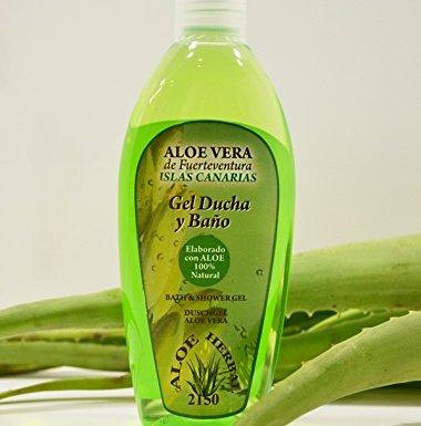 Aloe Herbal 2150 Gel ducha y baño con Aloe Vera 250ml en oferta