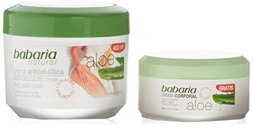 Babaria Crema Anticelulítica + Crema Corporal Aloe Vera – 1 Pack en oferta