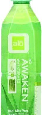 Alō – Awaken – Wheatgrass + Aloe Vera Drink – 500ml (Case of 12)