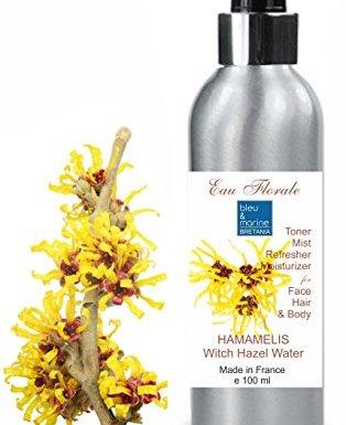 Hidrolato de Hamamelis – Olmo Escocés 100 ml Agua Floral – Tónico para Piel Grasa Piel con Imperfecciones Piel Normal Piel con Acné en oferta