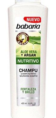 Babaria Champú Nutritivo Aloe Vera – 400 ml