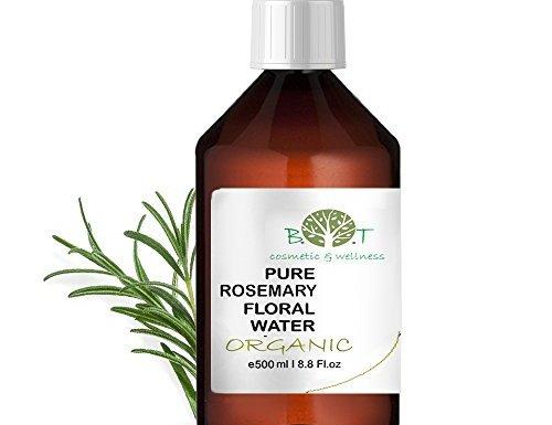 Agua Floral Puro Ecológico Hidrolato de Romero ORGÁNICO Piel Grasa / Acne 500 ml en oferta
